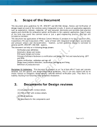 rf design and review guidelines