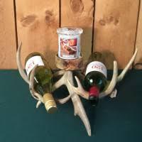 mad river antler real antler wine racks u0026 bottle holders