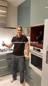 2017 china hangzhou vermont custom small space kitchen high gloss
