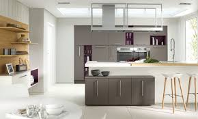 kitchens graite varnished countertops with brown kitchen islands and bar