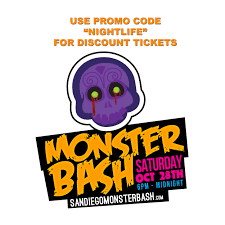 halloween party 2017 monster bash gaslamp halloween party san diego discount tickets