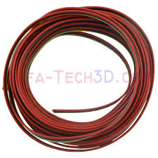color ribbon cable 6 pin in red blue black green yellow and white