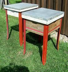 Homemade End Tables by Use Hive Body U0026 Roof Attach Table Legs To Make A Chic Shaker