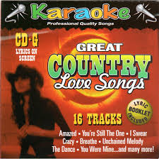 great country songs 16 track karaoke bay cd g formatted