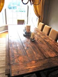 Restoration Hardware Trestle Table Knock Off by How To Make A Diy Farmhouse Dining Room Table Restoration