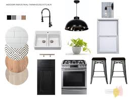 Kitchen Design Boards In The Mood Modern Industrial Farmhouse Kitchen Relocated Living