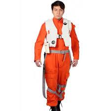 wars jumpsuit xcoser arrival orange jumpsuit wars vii poe dameron