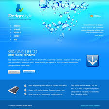 bubbles html template 5462 abstract website templates