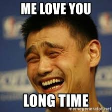 Me Love You Long Time Meme - me love you long time laughing asian man meme generator