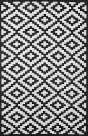 Outdoor Plastic Rug by Rug Black And White Indoor Outdoor Rug Nbacanotte U0027s Rugs Ideas