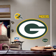 Green Bay Packers Home Decor Green Bay Packers Logo Wall Decal