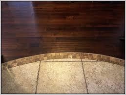 Floor Transition Ideas Ceramic Tile Wood Floor Transition Tiles Home Decorating Ideas
