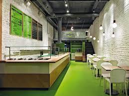 Fast Food Restaurant Salad Station Istanbul ID Design Fastfood - Fast food interior design ideas