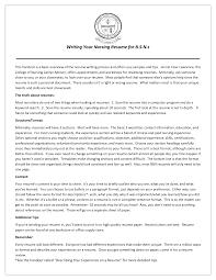Best Resume Nurse by Recovery Room Nurse Resume Cover Letter Nurse Resume Cv Cover