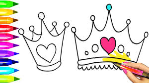 Adult Best Crown Color Page Top Printable Coloring Queen Pages Princess Crown Coloring Page Free Coloring Sheets