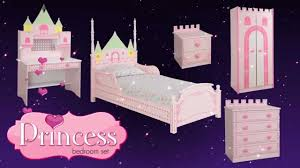 princess castle theme bed bedroom furniture for kids children from princess castle theme bed bedroom furniture for kids children from little devils direct youtube
