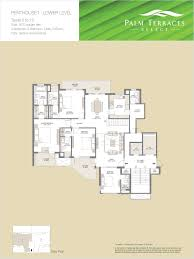Party Floor Plan by Floor Plans Of Emaar Mgf Palm Terraces Select Gurgaon Apartments
