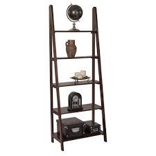 Altra Ladder Bookcase by 4d Concepts Arlington Dark Cappuccino Ladder Bookcase 89835 The