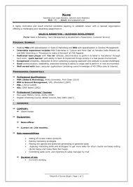Mba Graduate Resume Sample by Curriculum Vitae Resume Examples Free Resume Samples For