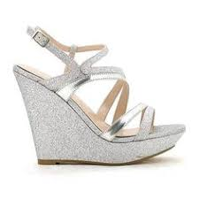 silver wedding shoes wedges sparkly gold wedge heels shoe gold wedge