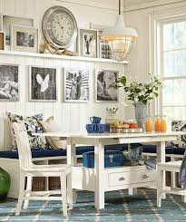 7 lovely dining rooms banquettes dining area and pottery