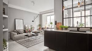 grey home interiors a small grey apartment in stockholm style minimalism
