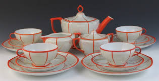 vintage czech porcelain tea set from mz altrohlau cmr czechoslovakia