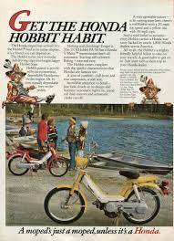 kickstand classic honda hobbit u2014 from a tiny vanished race of
