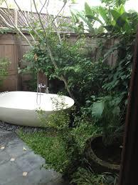 garden bathroom ideas bathroom ideas beautiful small outdoor bathroom with garden oval