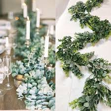 wedding garland eucalyptus garland wedding garland greenery garland woodland