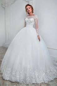 gown wedding dress bateau neckline gown wedding dress with lace appliques