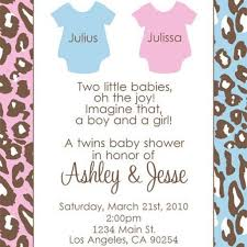 twin baby shower invitations dancemomsinfo com