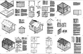 free cabin plans 14 x 10 cabin loft backyard shed with porch plans p61410 free