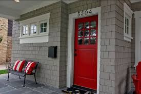 Red Door Home Decor Red Door Grey House With Red Door 17 Image 15 Of 24 Auto