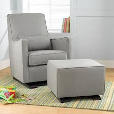 Nursery Glider Rocking Chair The Land Of Nod Nursery Gliders Grey Upholstered Monte