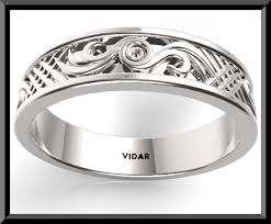 white gold mens wedding band unique mens wedding bands white gold vidar jewelry unique