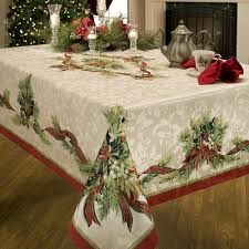 snowflake table top decorations decoration italian tablecloths snowflake table linens vintage