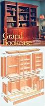 Woodworking Plans Wall Bookcase by Best 25 Bookcase Plans Ideas On Pinterest Build A Bookcase