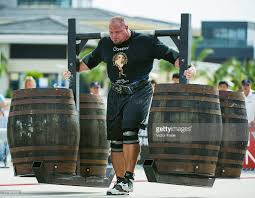 i met the 2x worlds strongest man brian shaw today i am about 6 u00272