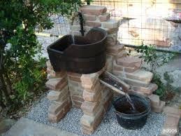 fontane per giardini come costruire una fontana in pietra idee di design per la casa