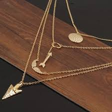 beautiful necklace gold images Stylish gold modern beautiful necklace lily dress boutique jpg