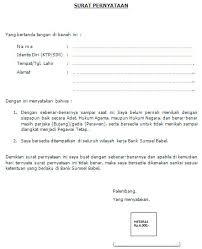 contoh surat pernyataan untuk melamar kerja informasi lowongan kerja smk sma terbaru contoh surat lamaran