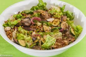 cuisiner le petit eautre salade de petit épeautre aux légumes d été et chèvre frais