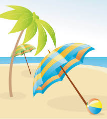 Clip On Umbrellas For Beach Chairs Beach Clipart Free Download Clip Art Free Clip Art On