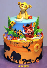 lion king cake toppers jungle themed cakes and cupcakes inspiration