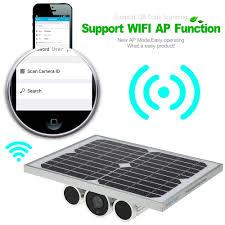 wanscam 720p wifi solar u0026 battery power camera night vision