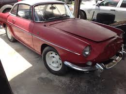 renault caravelle for sale better than it looks u2013 1963 renault caravelle rusty but trusty