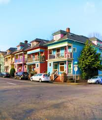 row houses colorful row houses in northwest portland 1 2 travel dads