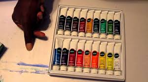 quick review reeves acrylic 18 color set youtube