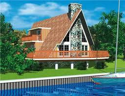 a frame houses the a frame house plan revisting a 50s sensation